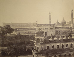 The Great Imambara and mosque, Lucknow.
